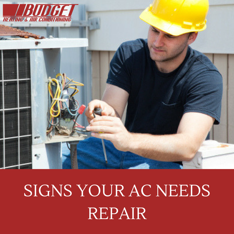 10 Signs Your Air Conditioner Needs Repair or Replacement