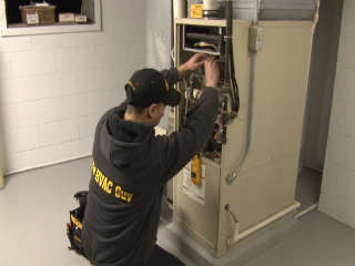 Budget HVAC Furnace repairmen working overtime during bitter blast