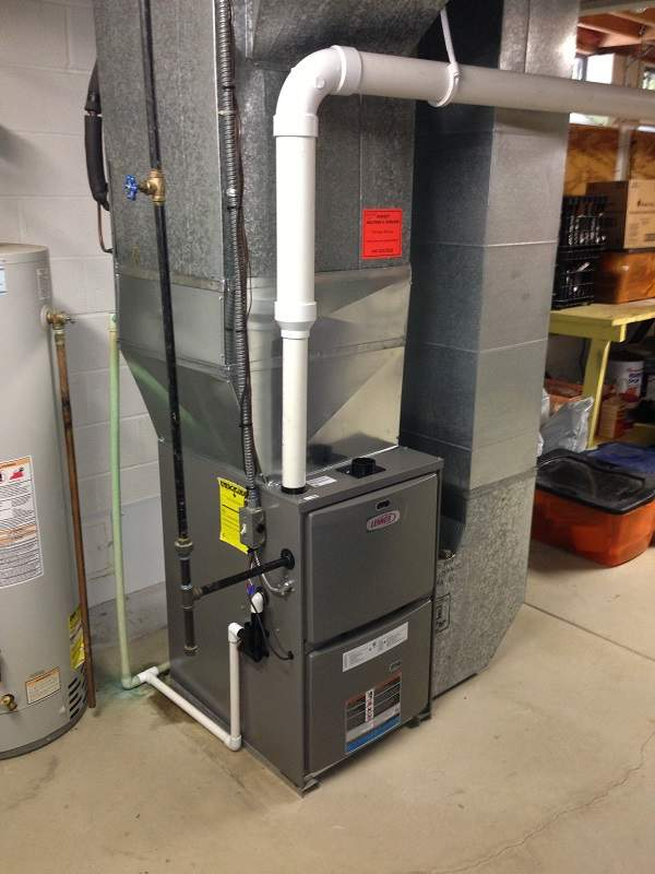 New Lennox Furnace Installed in House