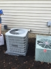 Replacement of condenser unit for great air conditioning maintenance clients at the Zelman residence in Moreland Hills.