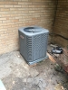 New construction air conditioner installation in Westlake.